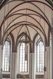 St. Nicholas Church Berlin. St. Nicholas Church - Nikolai Church Berlin - Jesus Christ on cross Stock Images