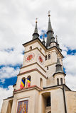 St. Nicholas Church in Brasov Stock Photo