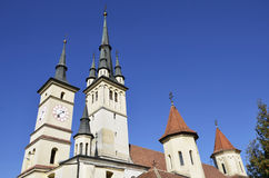 St. Nicholas Church Brasov ,Romania Royalty Free Stock Images