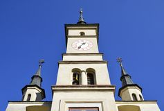 St. Nicholas Church Brasov ,Romania Stock Photo