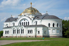 St. Nicholas Church in Brest fortress Royalty Free Stock Images
