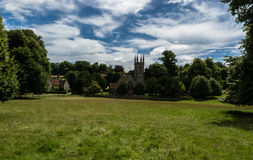 St Nicholas Church in Chawton, Hampshire, England Stock Image