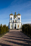St. Nicholas Church in Chernigov, Ukraine Stockbild