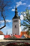 St. Nicholas Church. Church of St. Nicholas, a concert hall and a museum in Tallinn Stock Images