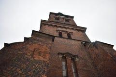 St Nicholas Church, Copenhaga fotografia de stock
