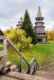 St Nicholas Church dal villaggio di alta isola Fotografia Stock
