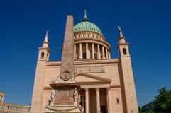 St. Nicholas Church em Potsdam, Alemanha Fotos de Stock
