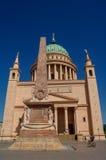 St. Nicholas Church em Potsdam, Alemanha Imagens de Stock Royalty Free