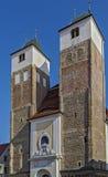St Nicholas Church, Freiberg, Tyskland Royaltyfri Fotografi