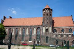 St. Nicholas Church in Gdansk Royalty Free Stock Images