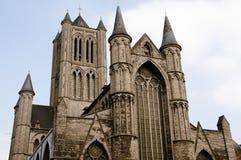 St Nicholas Church - Ghent - Belgium. St Nicholas Church in Ghent - Belgium Stock Photo