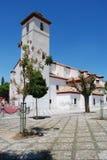 St Nicholas Church, Granada. Stock Photos