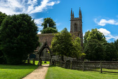 St Nicholas Church i Chawton, Hampshire, England Royaltyfri Fotografi