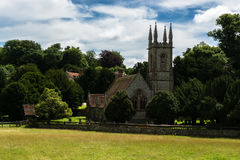 St Nicholas Church i Chawton, Hampshire, England Royaltyfri Foto