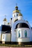 St Nicholas Church i Chernigov, Ukraina Royaltyfri Foto