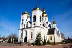 St Nicholas Church i Chernigov, Ukraina Royaltyfria Bilder