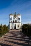 St Nicholas Church i Chernigov, Ukraina Fotografering för Bildbyråer