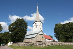 St Nicholas Church in Kose Estland Stock Foto