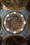 St Nicholas Church & x28; Kostelsvatã©ho Mikulà ¡ Å ¡ e& x29; Stock Afbeelding