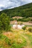 St Nicholas Church, lac Mavrovo, Macédoine Image libre de droits
