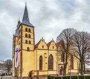 St Nicholas Church, Lemgo, Alemania foto de archivo libre de regalías