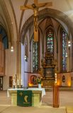St. Nicholas Church, Lemgo, Deutschland stockbilder