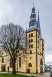 St. Nicholas Church, Lemgo, Deutschland stockbild