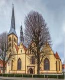 St Nicholas Church, Lemgo, Duitsland stock afbeelding
