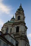 St.Nicholas Church in Mala Strana Stock Photo