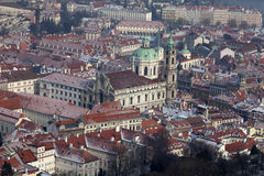 St Nicholas Church, Mala Strana, Prague Royalty Free Stock Photo