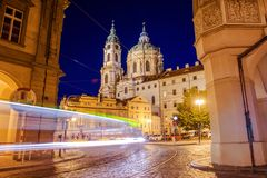 St. Nicholas Church Mala Strana Royalty Free Stock Images