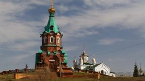 St. Nicholas Church in memory of victims of political repression. Royalty Free Stock Photography