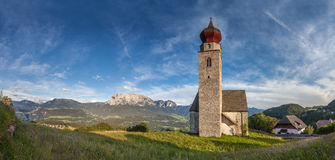St. Nicholas Church in Mittelberg Royalty Free Stock Photo