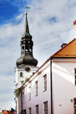 St. Nicholas' Church (Niguliste). Old city, Tallinn, Estonia Royalty Free Stock Photo
