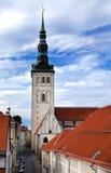 St. Nicholas' Church (Niguliste). Old city, Tallinn, Estonia Royalty Free Stock Photos