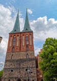 St. Nicholas Church (Nikolaikirche), in Berlin, Deutschland lizenzfreies stockbild