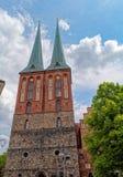 St Nicholas Church (Nikolaikirche), i Berlin, Tyskland Royaltyfri Bild