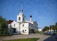 St. Nicholas church Nikolskaya church in the historical center of Suzdal. Russia Royalty Free Stock Photo