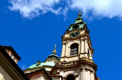 St. Nicholas Church, Old Town Square Royalty Free Stock Image