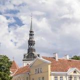 St. Nicholas Church. In oldtown of Tallin, Estonia Stock Image