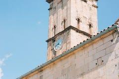 St. Nicholas Church, Perast, Montenegro Lizenzfreies Stockfoto