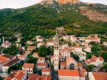 St. Nicholas Church, Perast, Montenegro Lizenzfreie Stockfotografie