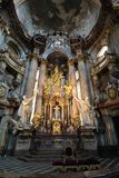 St. Nicholas Church in Prague. St. Nicholas Church interior in Prague, Czech Republic Royalty Free Stock Image