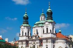 St. Nicholas Church, Prague. St. Nicholas Church in the Old Town of Prague, Czech Republic Stock Photography