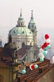St. Nicholas church, Prague Royalty Free Stock Images