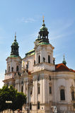 St Nicholas church in Prague. Royalty Free Stock Photos