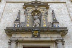 St Nicholas Church, Prague Images stock