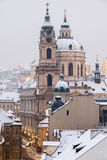 St. Nicholas Church in Prague Royalty Free Stock Photography