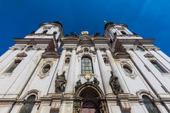 St. Nicholas Church, Prague, Czech Republic Royalty Free Stock Photos