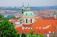 St. Nicholas Church in Prague Stock Photography